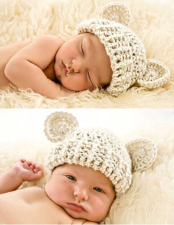Ảnh số 25: Mũ móc trẻ em - Giá: 1.000