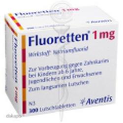 Ảnh số 15: Fluoretten 1mg - Giá: 470.000
