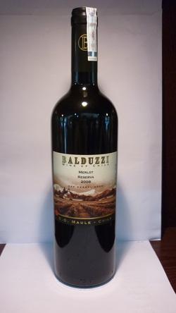 Ảnh số 5: BALDUZZI Merlot Reserve 2008 - Giá: 320.000