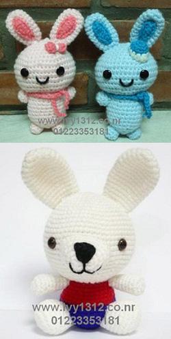 Ảnh số 61: Thỏ đôi 120K/cặp-Thỏ trắng 80K - Giá: 120.000