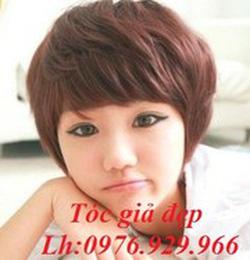 Ảnh số 2: Tóc giả ngắn Hàn quốc - Giá: 650.000
