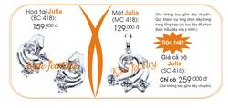 Ảnh số 6: bộ julia - Giá: 259.000