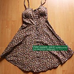 Ảnh số 63: Váy hoa nhí có đệm ngực - Giá: 160.000