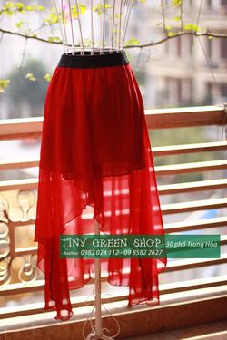 Ảnh số 78: Váy mullet xẻ trước - Giá: 200.000