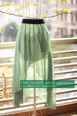 Ảnh số 79: Váy mullet xẻ trước - Giá: 200.000