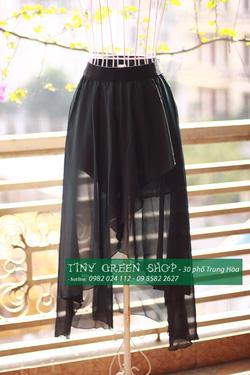 Ảnh số 80: Váy mullet xẻ trước - Giá: 200.000