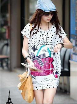Ảnh số 64: b10341-180k,áo phom dài,rộng,màu xanh,hồng - Giá: 180.000