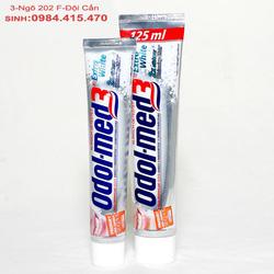 Ảnh số 34: Kem đ&aacutenh răng Odol-Med3 Extra White 75ml: - Giá: 110.000