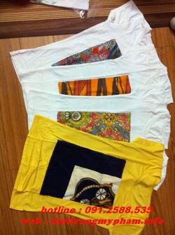 Ảnh số 27: áo phông cotton nhều màu - Giá: 110.000
