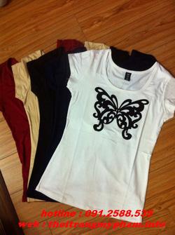 Ảnh số 25: áo phông bướm nhiều màu - Giá: 120.000