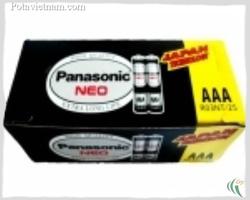 Ảnh số 28: Pin đũa AAA, Pin thông dụng, Pin Carbonzinc, Pin Panasonic extra heavy duty R03NT/2S (UM4) - Đen ( 1 Gói/ 2 Viên pin) - Giá: 7.000