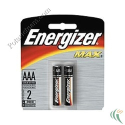 Ảnh số 43: Pin đũa AAA, Pin Kiềm Alkaline, Pin thông dụng, Pin 1.5V, Pin ENERGIZER AAA E92/BP2 (1 Vỉ/ 2 Viên pin) - Giá: 25.000