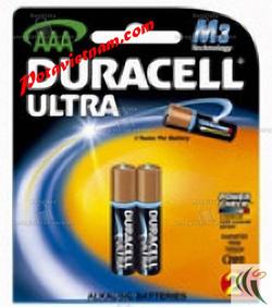 Ảnh số 67: Pin đũa AAA, Pin Kiềm-Alkaline, Pin cao cấp máy ảnh - máy quay, Pin 1.5V, Pin DURACELL ULTRA MX2400/B2 (1 Vỉ / 2 viên pin) - Giá: 40.000