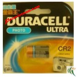 Ảnh số 78: Pin Lithium, Pin cao cấp dùng cho máy ảnh - máy quay, Pin 3V, Pin DURACELL CR2 - 3V, Loại pin ngắn (1 Vỉ/ 1 Viên pin) - Giá: 58.000
