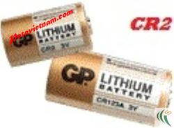 Ảnh số 79: Pin Lithium, Pin cao cấp dùng cho máy ảnh - máy quay, Pin 3V, Pin GP CR2 - 3V, Loại pin ngắn (1 Vỉ/ 1 Viên pin) - Giá: 58.000