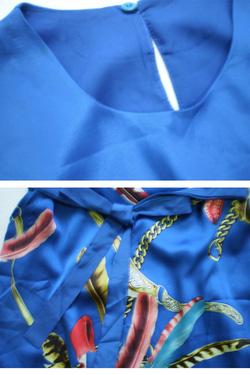 Ảnh số 12: Đầm lụa chiffon thiết kế của Dolce cực sang - Giá: 420.000