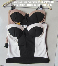 Ảnh số 43: áo corset fake bebe - Giá: 320.000