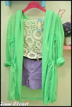 Ảnh số 40: áo khoác voan - Giá: 180.000