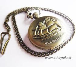 Ảnh số 3: Đồng hồ cổ thuyền buồm - Giá: 120.000