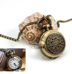 Ảnh số 7: DCDH 027_Dây chuyền đồng hồ bông hoa - 110.000 VNĐ - Giá: 150.000