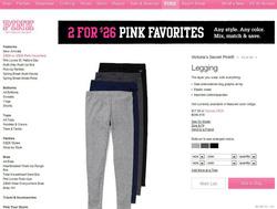 Ảnh số 78: ♥legging PINK xuất xịn , mặc siêu thích rồi ♥ 120k ♥ XS,S,M,L from nhỏ - Giá: 120.000
