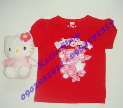 Ảnh số 28: Áo baby Gap bông hồng đỏ - Giá: 70.000
