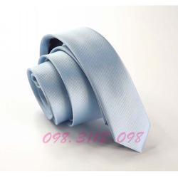Ảnh số 66: Lụa siêu nhỏ 3cm xanh biển nhạt - Giá: 80.000
