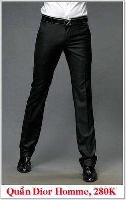 Ảnh số 2: Quần Âu Nam Dior 280K - Giá: 280.000