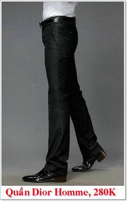 Ảnh số 6: Quần Âu Nam Dior 280K - Giá: 280.000
