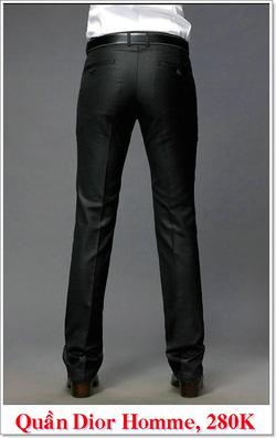 Ảnh số 7: Quần Âu Nam Dior 280K - Giá: 280.000
