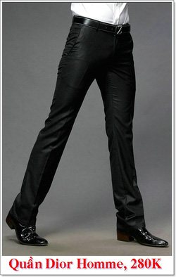 Ảnh số 11: Quần Âu Nam Dior 280K - Giá: 280.000