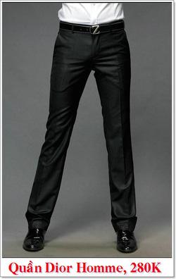 Ảnh số 12: Quần Âu Nam Dior 280K - Giá: 280.000