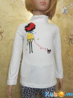 Ảnh số 5: Áo thun dài tay cổ 3F Zara girls cho bé gái từ 2 đến 10 tuổi , giá cửa hàng: 150k - Giá: 150.000