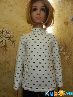 Ảnh số 8: Áo thun Zara Kids dài tay cổ 3F cho bé gái từ 2 đến 10 tuổi, giá cửa hàng 150k - Giá: 150.000