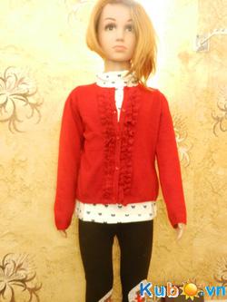 Ảnh số 9: Áo khoác len Zara bèo khuy cho bé gái từ 2 đến 10 tuổi, giá cửa hàng 225k - Giá: 225.000