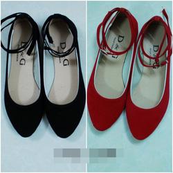 Ảnh số 5: Giày nhung đế bệt. Size: 35 - 39. Giá : 150k/đôi - Giá: 150.000