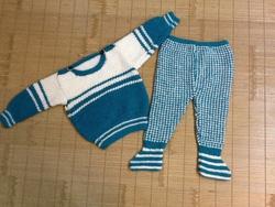 Ảnh số 42: Bộ quần áo len trẻ em - Giá: 400.000