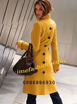 Ảnh số 2: áo choàng dạ nữ - Giá: 1.400.000