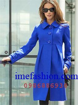 Ảnh số 3: áo choàng dạ nữ - Giá: 1.100.000