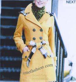 Ảnh số 12: áo choàng dạ nữ - Giá: 1.350.000