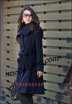 Ảnh số 17: áo choàng dạ nữ - Giá: 1.300.000