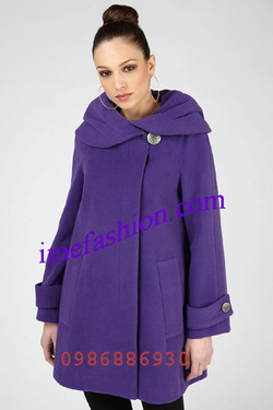 Ảnh số 23: áo choàng dạ nữ - Giá: 1.350.000