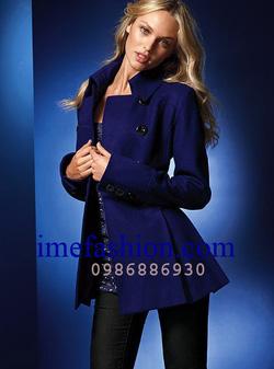 Ảnh số 24: áo choàng dạ nữ - Giá: 1.400.000
