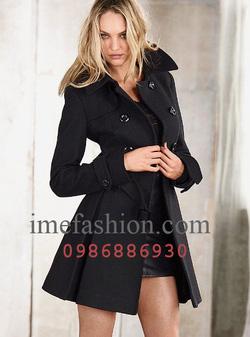 Ảnh số 25: áo choàng dạ nữ - Giá: 1.350.000