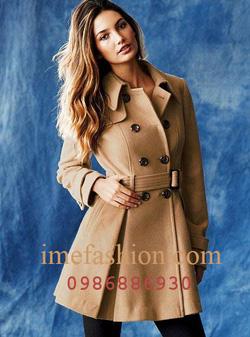 Ảnh số 26: áo choàng dạ nữ - Giá: 1.350.000