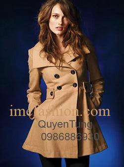 Ảnh số 27: áo choàng dạ nữ - Giá: 1.350.000