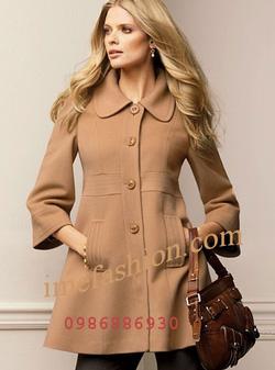 Ảnh số 28: áo choàng dạ nữ - Giá: 1.350.000
