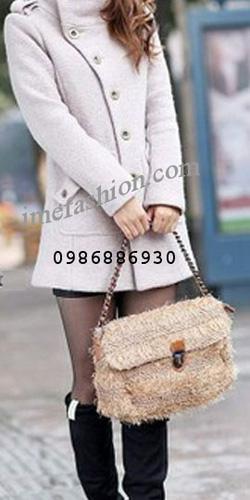 Ảnh số 31: áo choàng dạ nữ - Giá: 1.350.000