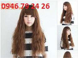 Ảnh số 95: Tóc bộ Nữ Hàn Quốc xoăn nhẹ A3020 - Giá: 750.000