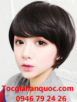 Ảnh số 42: Tóc ngắn đẹp Hàn quốc tom boy - Giá: 650.000
